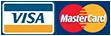 Pago seguro con Vista y Master Card